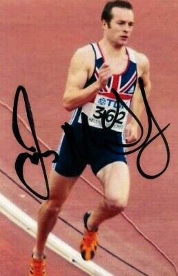 UNKNOWN ATHLETE ~ 6x4 Signed Autograph Photo