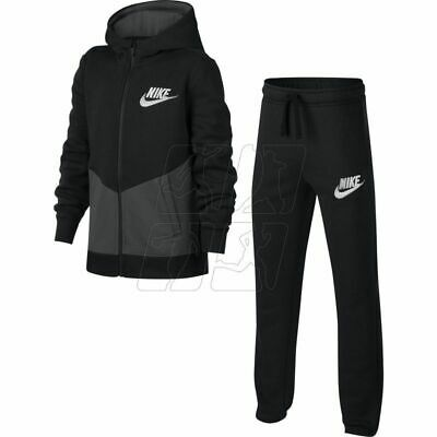 Nike Kids Fleece Tracksuit Top Bottoms Pants Jumper Size 8-10 years,10-12 years