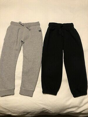 Boys Joggers NEXT M&S Grey Black Age 3-4 Years