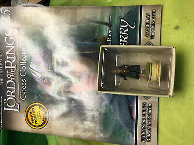 Lord Of The Rings Chess Collection Issue 25 Merry Eaglemoss Figure Figurine