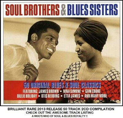 Soul Blues Best 50 Greatest Hits 2CD - Otis Redding Aretha Franklin Sam Cooke