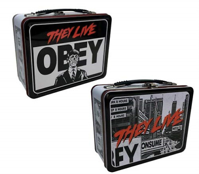 -They Live Obey Tin Tote Acc New