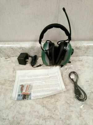 Elvex COM-660R 22dB NRR AM/FM Radio Band Green Electronic Ear Muffs