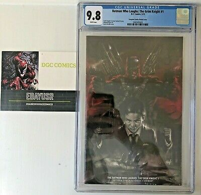 Batman Who Laughs: The Grim Knight #1 CGC 9.8 Lucio Parrillo Horror Variant