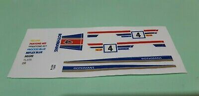 Scalextric STS recambios adhesivo Mercedes 280