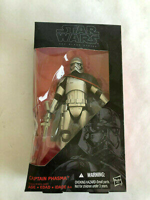 "Star Wars The Force Awakens Black Series 6"" Captain Phasma New with Damaged Box"