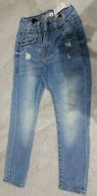 zara boys jeans size 5 years light blue denim good condition skinny fit