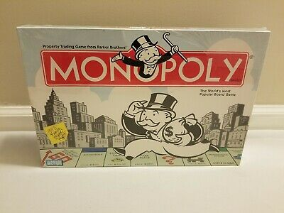 2004 Monopoly Board Game - Factory Sealed, Brand New