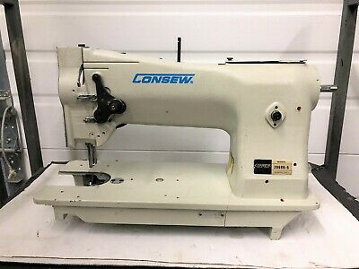 """Consew 206 Rb5  Walking Foot  """" Broken For Parts""""   Industrial Sewing Machine"""