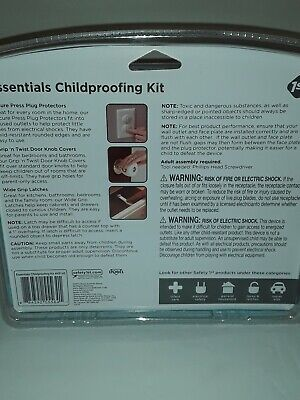 Safety 1st Essentials Child Proofing Kit- HS145 46 Piece Kit - Baby Proofing👼