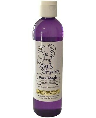 """Gigi's Organix """"Pure Magic"""" Tear Stains Remover for Small Dogs 8 oz."""