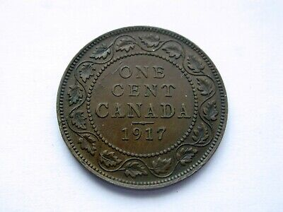 1917 Canada Large One Cent