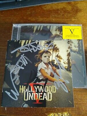 signed New Empire, Vol. 1 Hollywood Undead Audio CD Autographed