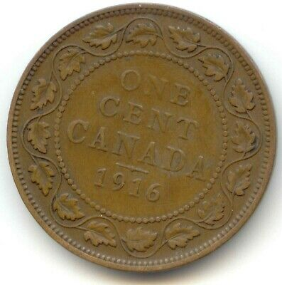 Canada 1916 Large Canadian One Cent Penny 1c *EXACT* COIN
