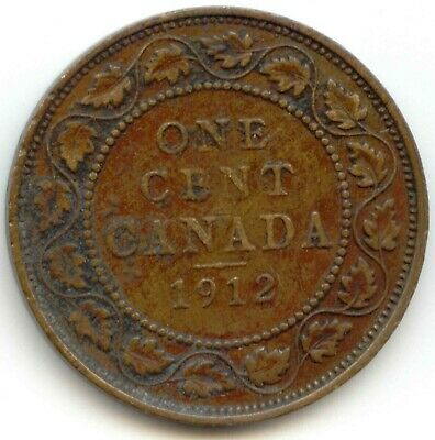 Canada 1918 Large Canadian One Cent Penny 1c *EXACT* COIN SHOWN