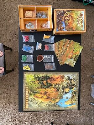 Stone Age Board Game (Second Edition) - Out of Print, Very Good, 100% Complete