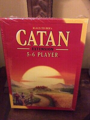 Catan Extension - 5-6 Player Board Game Expansion - Klaus Teuber NEW
