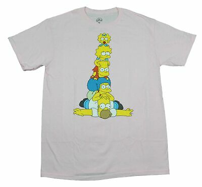 The Simpsons Family Bart Simpson Homer Marge Maggie Lisa 90s Cartoon T-Shirt Tee