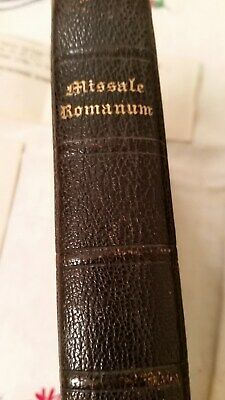 Religious book, Daily Missal Entirely in Latin,Romanum, 1922