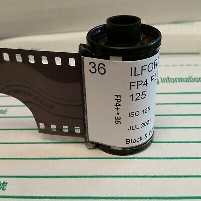 35mm- Ilford FP4 plus black&white film 36exp (*5 rolls) In-house studio loaded