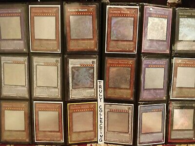 Yugioh Card Lot 50+ Mixed TCG Binder Collection Holo Foil Rare Ghost Secret Ulti