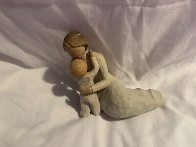 "Willow Tree Child's Touch 4.5"" Figurine Loving Mother & Baby 2000 Susan Lordi"