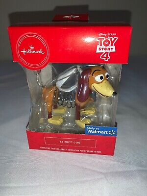 Hallmark Ornament 2019 Toy Story 4 Disney Pixar Slinky Dog NIB