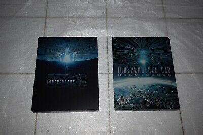 Independence Day + Independence Day: Coontrataque Steelbook Blu Ray