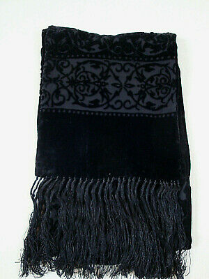 Gorgeous black devoire velvet Scarf by ACCESSORIZE_MONSOON