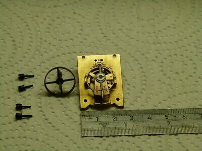 French Clock Platform escapement with pinion and screws in working order