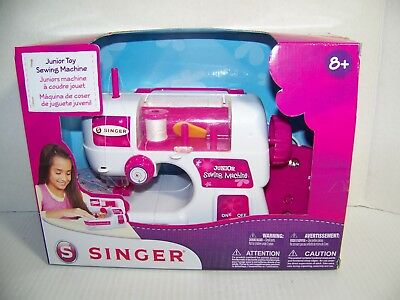 Singer Junior TOY Sewing Machine Toy w/ Pedal Battery Operated