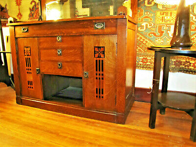 SUPERB  Rare in MINT condition SHOP of THE CRAFTER sideboard stickley era w5110