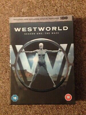 Westworld Season 1 DVD - The Maze