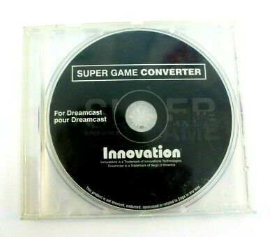 Sega Dreamcast Super Game Converter Disc Only by Innovation - Tested and Working