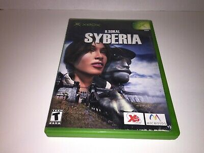 Syberia (Microsoft Xbox, 2003) LOT FUN NTSC GAME