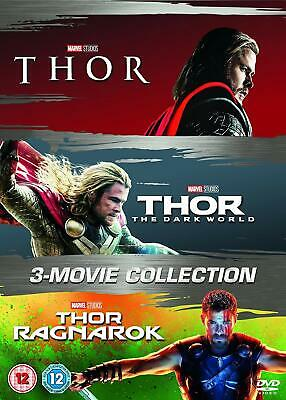 Thor 1-3 New DVD Box Set 3 Movie Collection 1 2 & 3