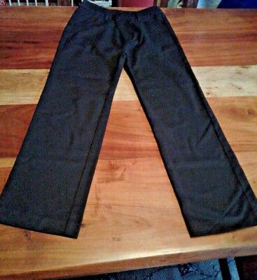 Debenhams Smart Black Trousers Age 9 Worn Once