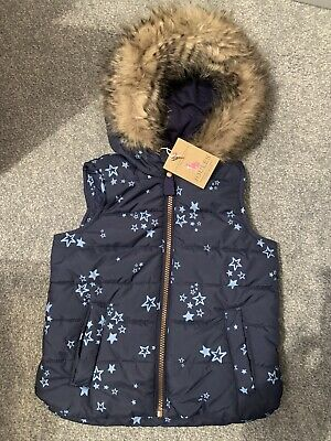 Joules Star Gilet Age 4 BNWT