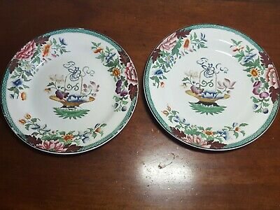 early , Antique 18th /19th Century pair of Wedgwood Creamware side plates