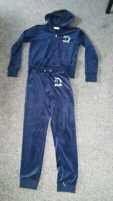 Matching tracksuit Unicorn jacket 12-14yrs and trousers 11-12yrs- excellent cond