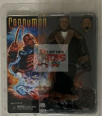 "TONY TODD Neca CANDYMAN 8"" Inch RETRO Clothed 2019 Action FIGURE"