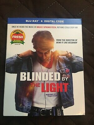 Blinded by the Light (BLURAY 2019) W/Slipcover *No Digital*