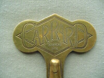 Vintage Antique Garrard Brass Clock Key