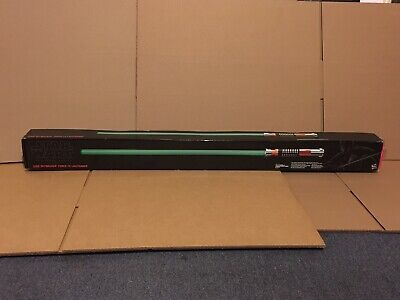 Brand New Hasbro Star Wars Luke Skywalker Force Fx Green Lightsaber Rotj