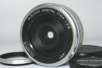 Appearance Mint Olympus M.Zuiko 17mm f/2.8 Wide Angle Lens MARUMI Protect Japan