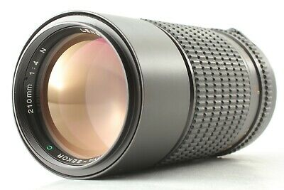【EXC +3】Mamiya Sekor C 210mm f/4 N lens for 645 1000s Pro from japan #429