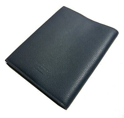 Authentic LOUIS VUITTON Book cover notebook Leather #1050