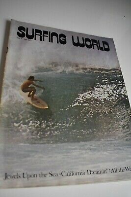 Vintage  Surfing World  Surfing Magazine  June 1973 Vol17 # 3