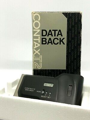 【Top Mint In Box】Contax T2 Data Back From Japan