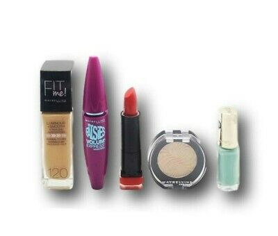 Maybelline,L'oreal,Maxfactor Lote Maquillaje